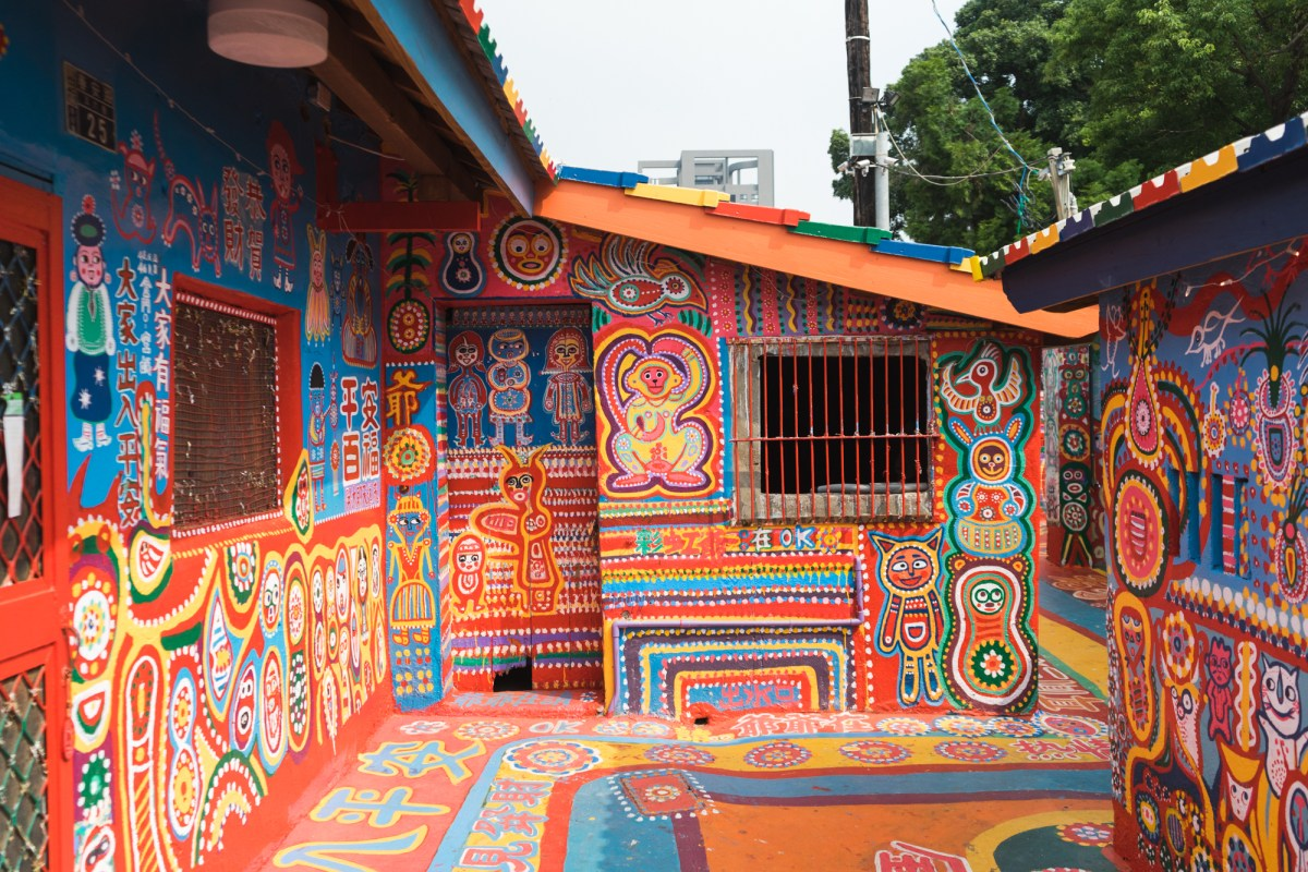 Rainbow Village in Taichung