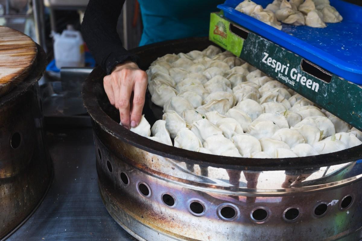 Potsticker Dumplings in Kaohsiung