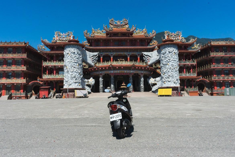 Temple in Hualien Taiwan