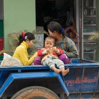 Toddler at Inle Lake, Myanmar