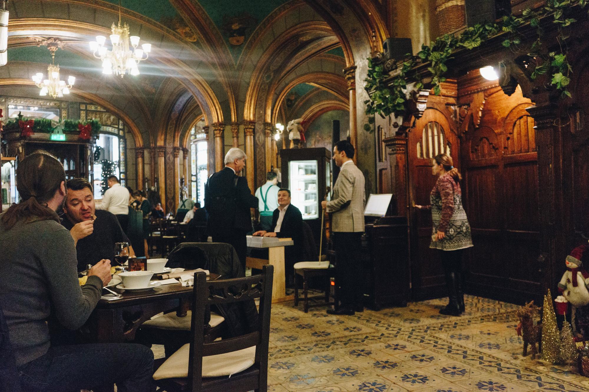 Caru cu Bere Restaurant in Bucharest Romania