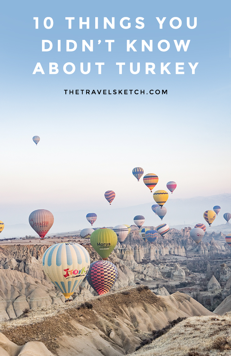 10 amazing facts about Turkey that I've bet you've never heard of!   www.thetravelsketch.com