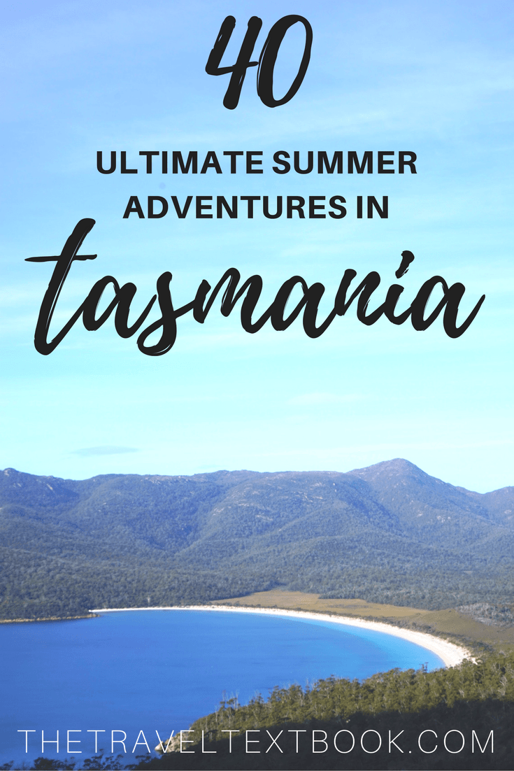 Tasmania Summer Pinterest