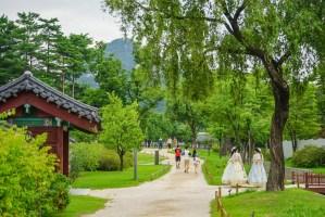 Gyeongbokgung Palace Gardens