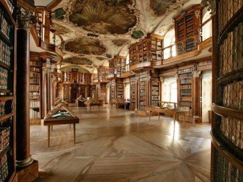 St Gallen Abbey Library