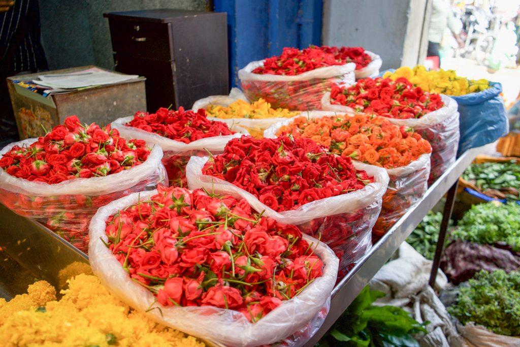 Devaraja Market Flowers