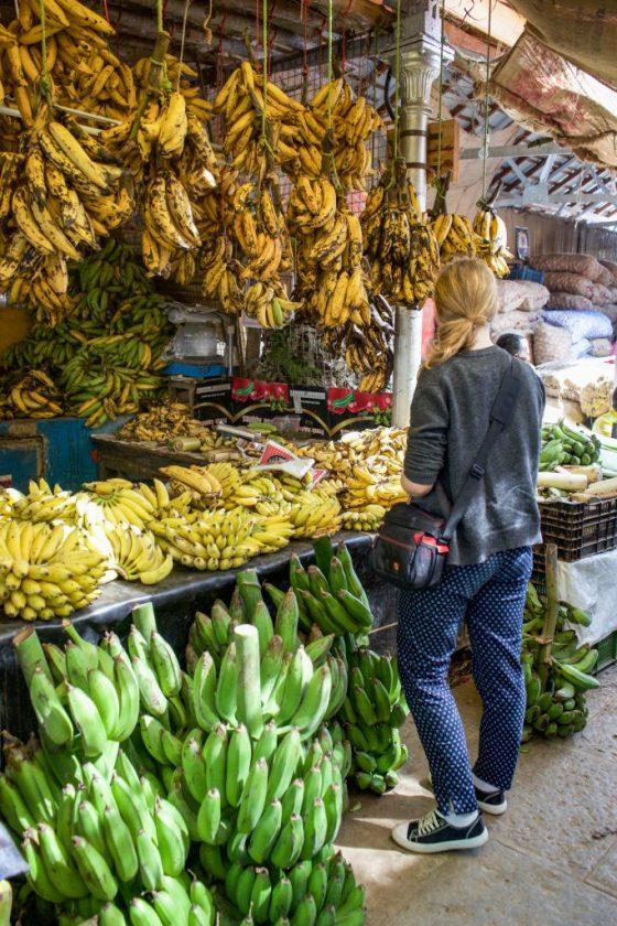 Devaraja Market Bananas