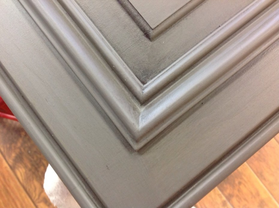 Cabinet door, painted in Trophy