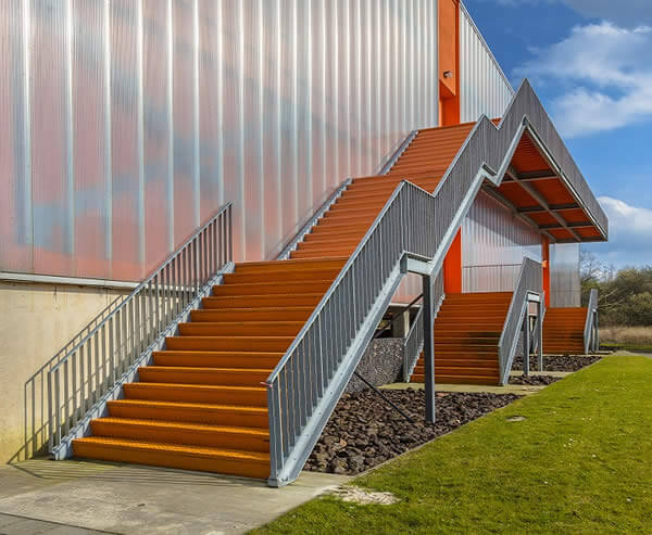 Cheap External Stairs and Their Construction