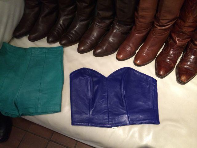 Leather goodies..