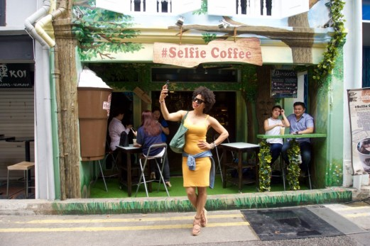 selfie coffee 1