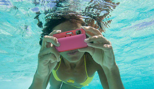 Travel in style: Sony Cyber-Shot Waterproof Camera