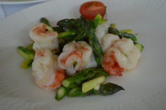 Sauteed Prawns with Asparagus