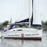 Lucian Mindruta și Bavaria 31 Cruiser, gata de start in competitiile de Yachting