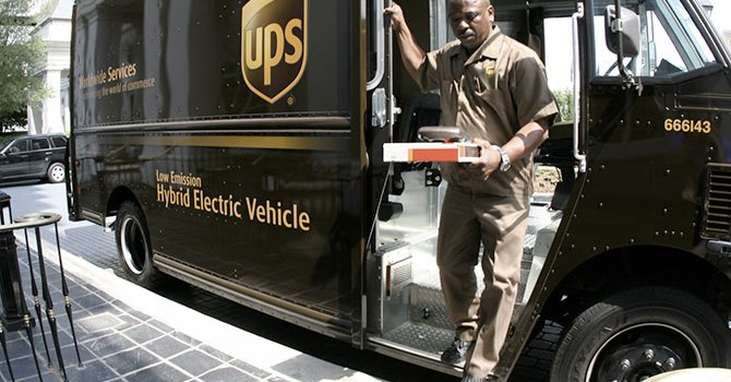 UPS 1Q Operatig profit, Up to 1,7 Billion