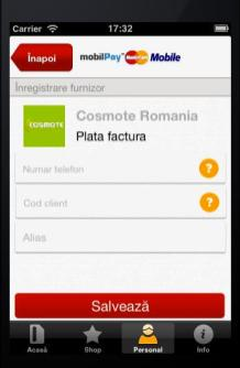 COSMOTE mobilPay MasterCard Mobile 3