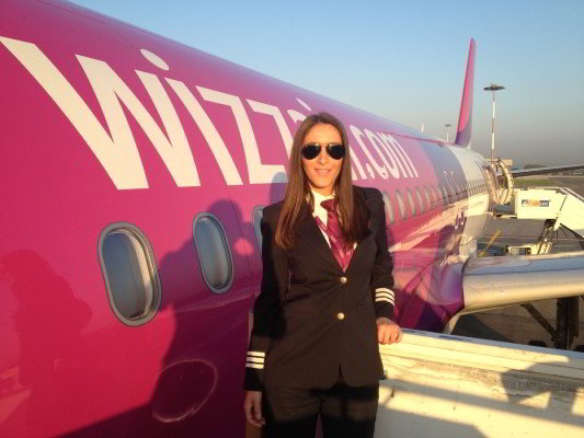 Andreea Litescu, Senior First Officer Wizz Air