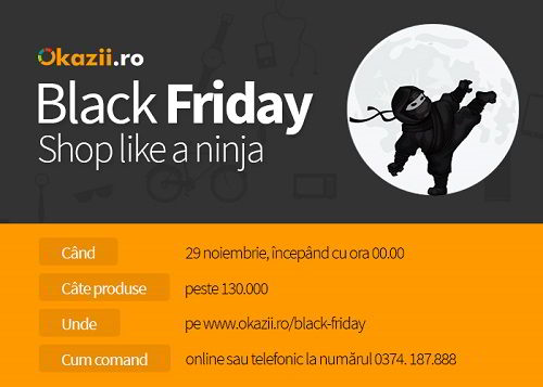 Black Friday Okazii.ro 700x500