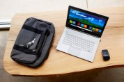 Inspiron 14 Touch Notebook on Bench