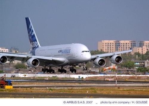 A380 AIB Demo Tour India - Mumbai_