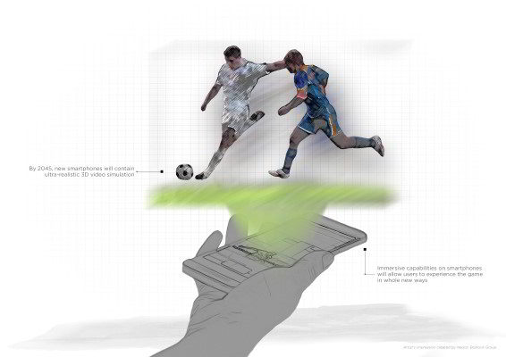 HTC The Future of Football Sketch 2