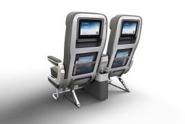 Premium Economy Double Seat rear view