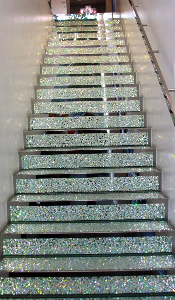 Swarovski Crystal Stairway On The Champs Elysées In Paris, France