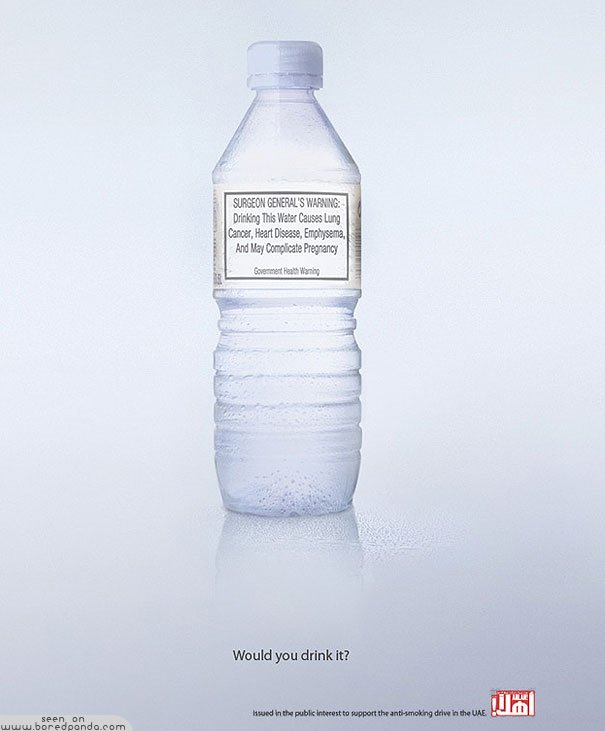 Clever-and-Creative-Antismoking-ads-Water