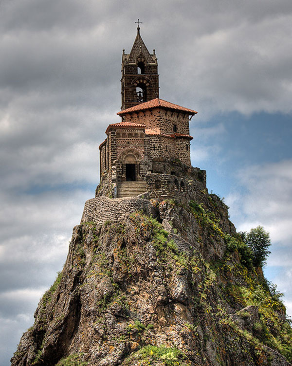 Saint-Michel d'Aiguilhe chapel (Le Puy-en-Velay, France)