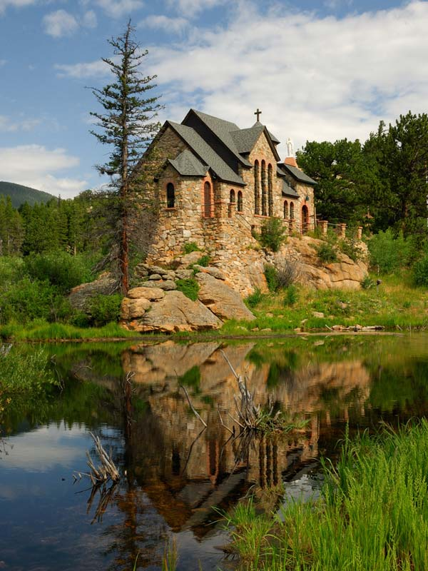 The Chapel on the Rock (Allenspark, Colorado, USA)