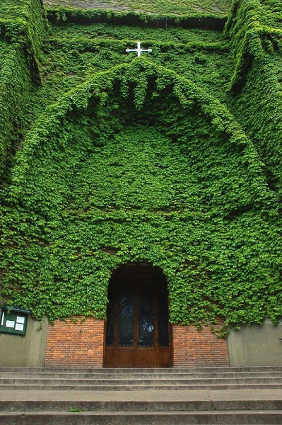 The Green church (Buenos Aires, Argentina)