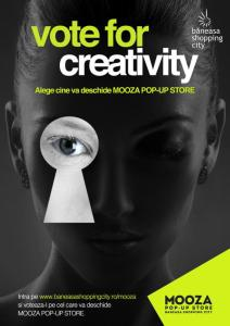 Vote for creativity MOOZA POP UP STORE