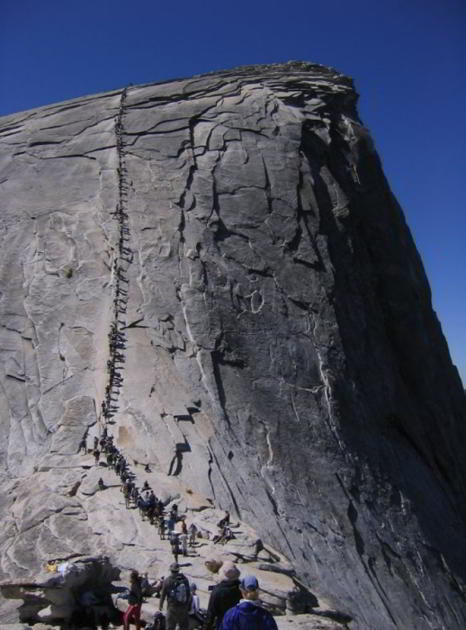 Half Dome, Cable Route, California
