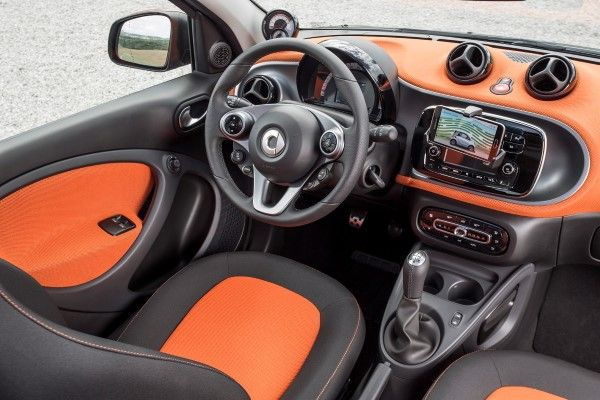 smart forfour - interior