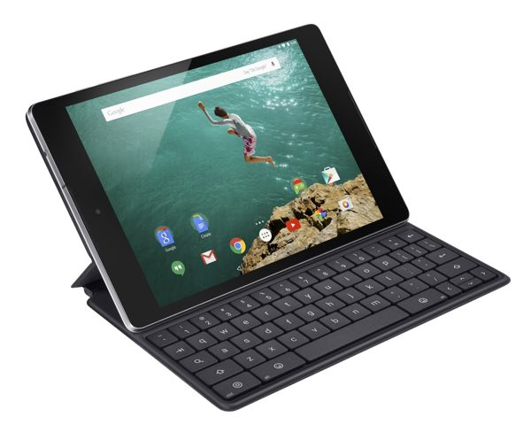Nexus 9_Angle_Black_Keybord Folio_mic