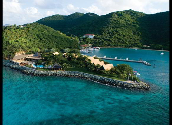 Peter Island Resort, British Virgin Islands. Preţul: de la 500 de dolari/noapte.