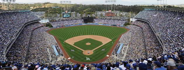 2. Dodger Stadium, Los Angeles, California