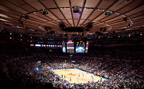 8.Madison Square Garden, New York, New York