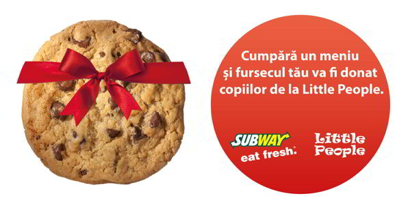 SUBWAY Cookie Campaign
