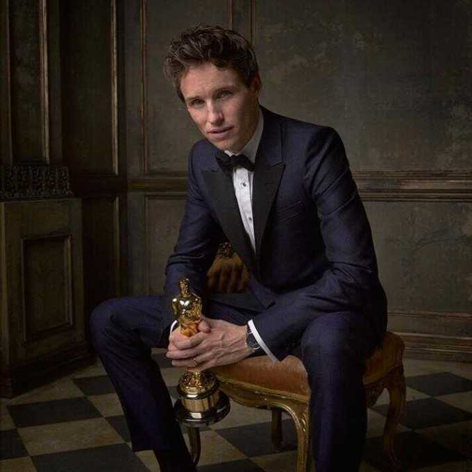 Eddie Redmayne (Winner, Best Actor)