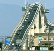 Eshima Ohashi bridge in Japan