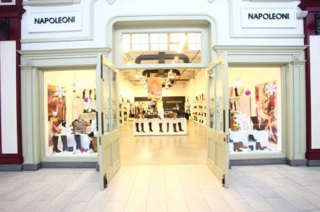 FASHION HOUSE Bucharest.New tenant.Napoleoni store, 173 sqm