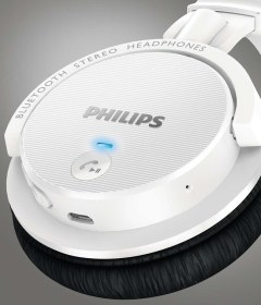 Casti wireless Philips SHB5500WT - 3
