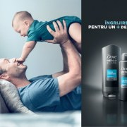 "Dove Men+Care lansează campania ""Real Strength"""
