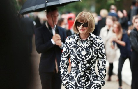 Anna Wintour at the Burberry Womenswear S_S16 Show