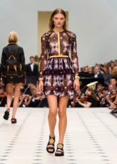 Burberry Womenswear S_S16 Collection - Look 25