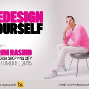 "Băneasa Shopping City va găzdui conferința ""How design will change the world"", susținută de Karim Rashid"