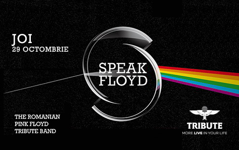Speak Floyd concertează joi pe scena TRIBUTE Club