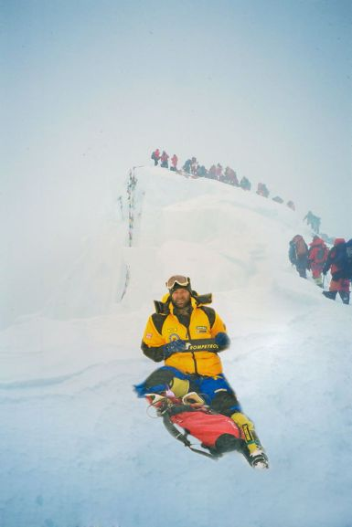 Marius Gane_Varful Everest 8848 m