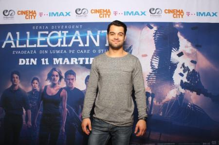 George Pistereanu avanpremiera Allegiant IMAX Freeman Entertainment